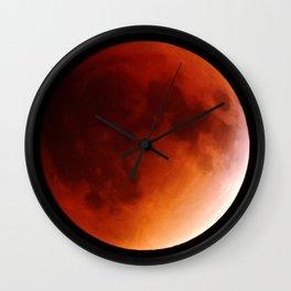 Blood Moon 2015 Wall Clock