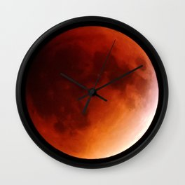 Blood Moon 2015 Wall Clock