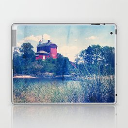 Vintage Great Lakes Lighthouse Laptop & iPad Skin