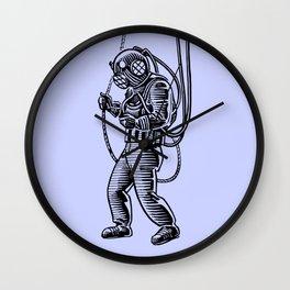 Vintage Deep Sea Diver Wall Clock