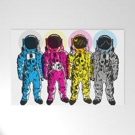 CMYK Spacemen Welcome Mat