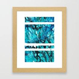 Ocean Jasper Framed Art Print