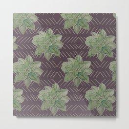 Succulent cacti Metal Print
