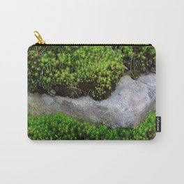 Vibrant Moss Carry-All Pouch