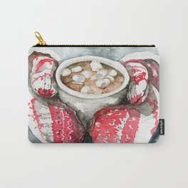 red mittens Carry-All Pouch