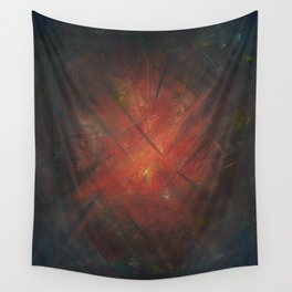 By the Campfire Wall Tapestry