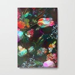 Acid still life floral Metal Print