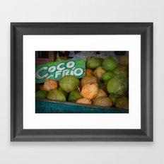 CocoFrio Framed Art Print