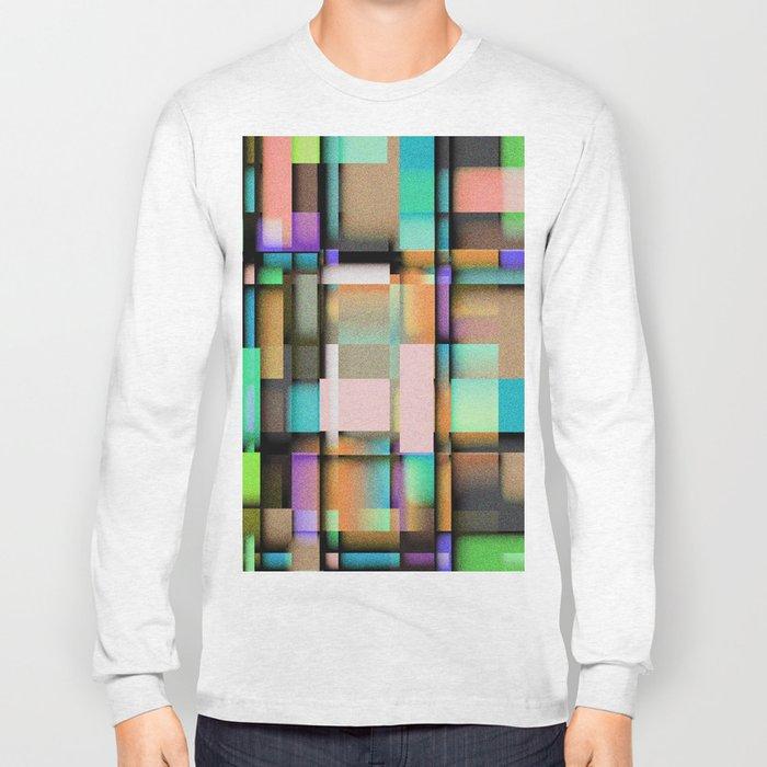 Geometric. Long Sleeve T-shirt