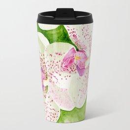 Fuschia Orchid Travel Mug
