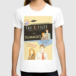 Mulder and Scully for dummies T-shirt