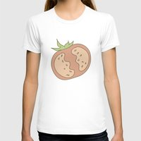 vegetable T-shirts featuring Vegetable Salad by akaink