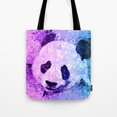 Colorful Geometric Panda Art - Cute Pandas Tote Bag