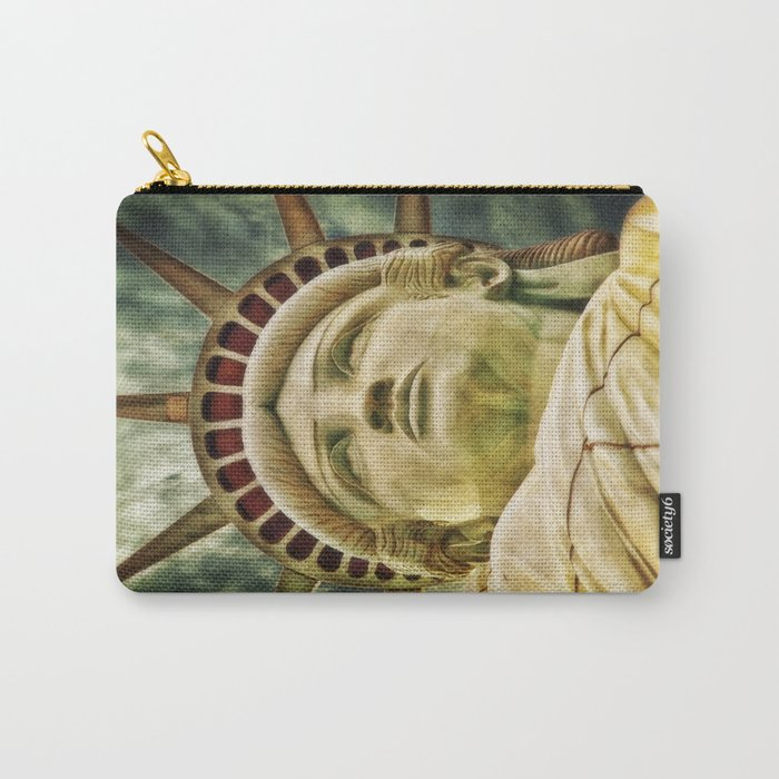 Statue of Liberty 4 Carry-All Pouch