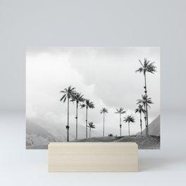 Palmtrees   Salento Colombia   Valle de Cocora Mini Art Print