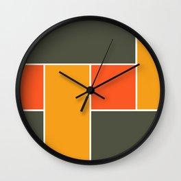 Deep Dots Wall Clock