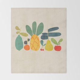 Fruits Throw Blanket