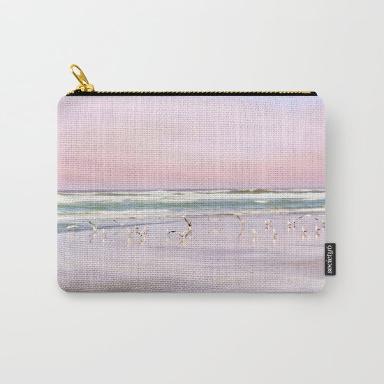 pastel beach Carry-All Pouch