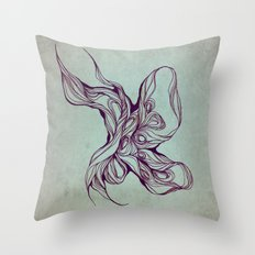 Abstract form Throw Pillow