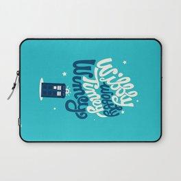Wibbly Wobbly Timey Wimey Laptop Sleeve