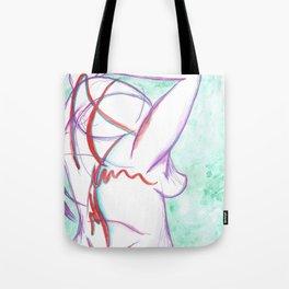 Pain Creeps In Tote Bag