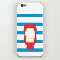 french fries iPhone & iPod Skins featuring French Fries by Marcela Chermont