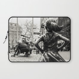 Fearless Girl & Bull - NYC Laptop Sleeve