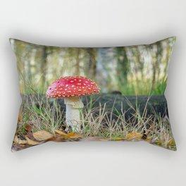 Fly Agaric Rectangular Pillow