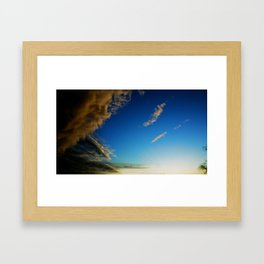 CUMULUS Framed Art Print