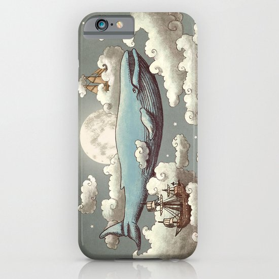 Ocean Meets Sky (original) iPhone & iPod Case