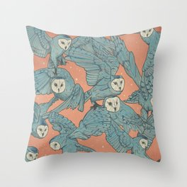 Court of owls Throw Pillow