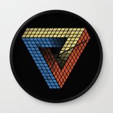 Penrose Puzzle Wall Clock