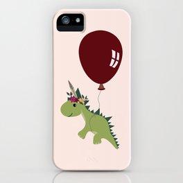 Let your spirit 'saur iPhone Case