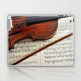 Old violin Laptop & iPad Skin