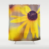 be happy Shower Curtains featuring Happy by Bella Blue Photography