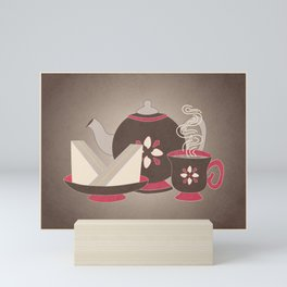 4 O'Clock Tea Time Mini Art Print