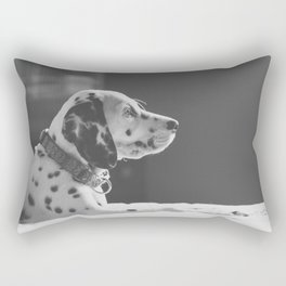 Peace, Love & Spots Rectangular Pillow