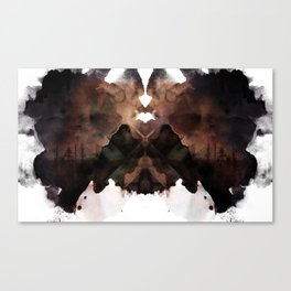 Test de Rorschach III Canvas Print