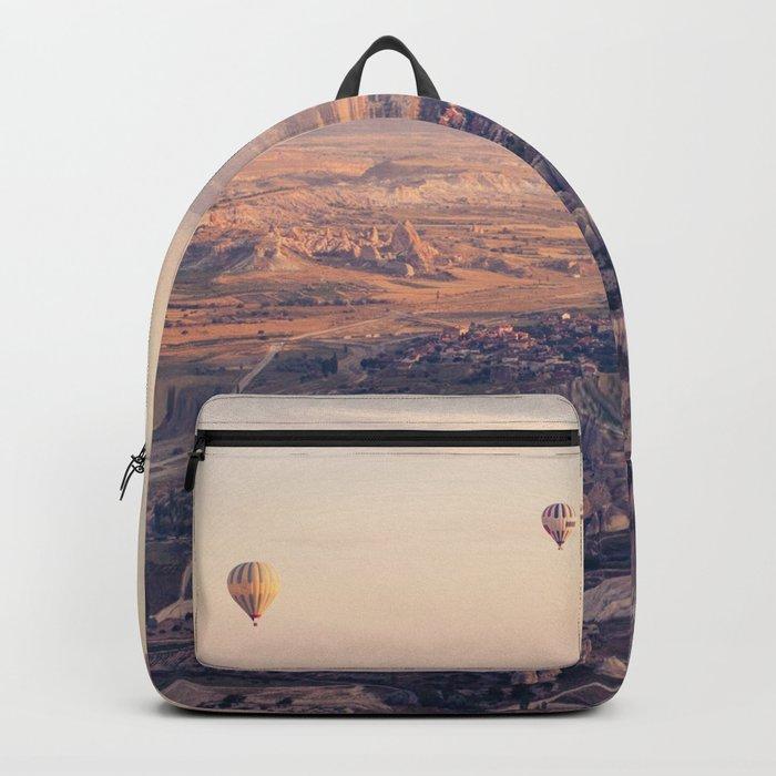 Sunrise Hot Air Balloon Flight Backpack
