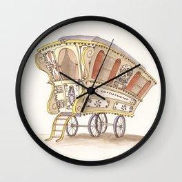 Caravans Wall Clock