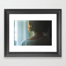 Sleepless Framed Art Print