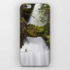 Curly Falls, Washington iPhone & iPod Skin