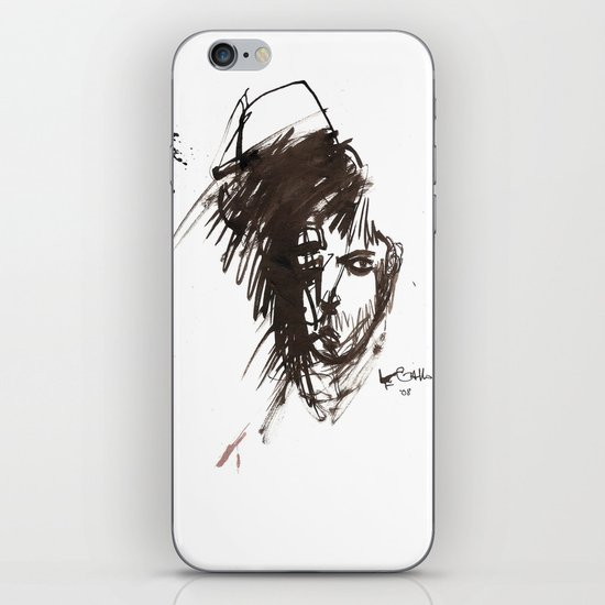 Self Portrait iPhone & iPod Skin