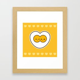 Egg Love Framed Art Print