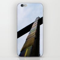 cross iPhone & iPod Skins featuring Cross  by Sierra Christie