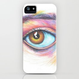eye see in color iPhone Case