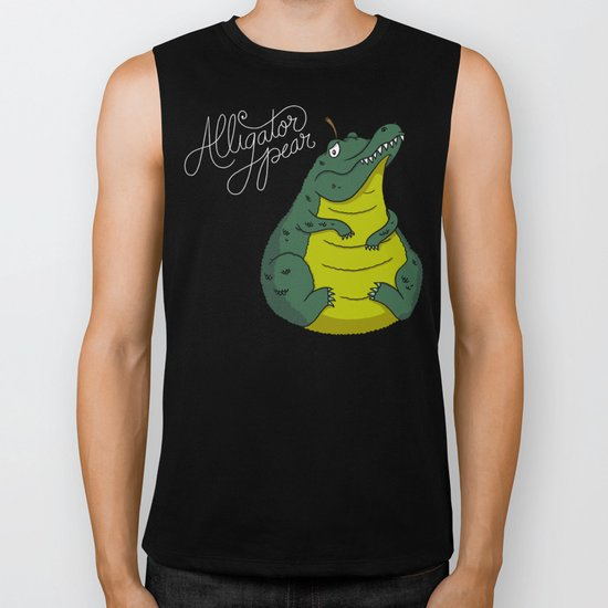 Alligator Pear Biker Tank