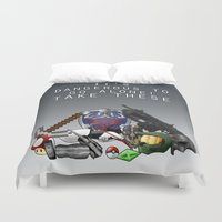 gamer Duvet Covers featuring Gamer  by Ioana Muresan