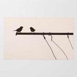 Sparrow Chat Rug