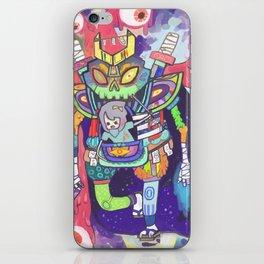 Kuri and the Kaiju iPhone Skin